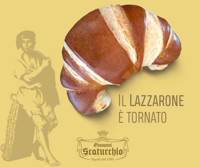 Cornetto Lazzarone di Scaturchio