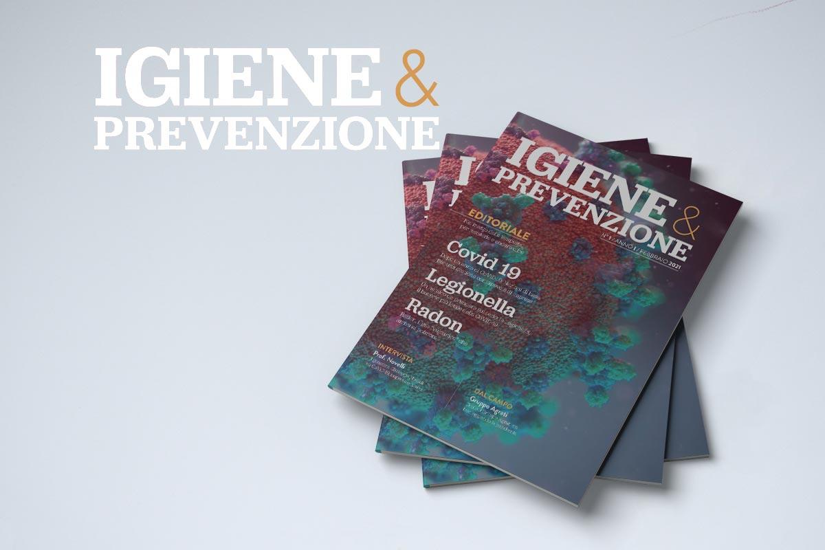 copertina della rivista 1 di Igiene e Prevenzione